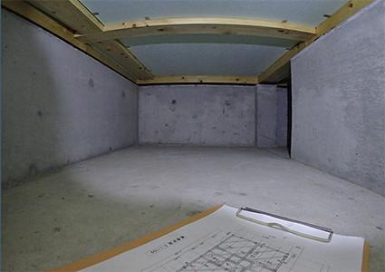 床下点検の記録画像