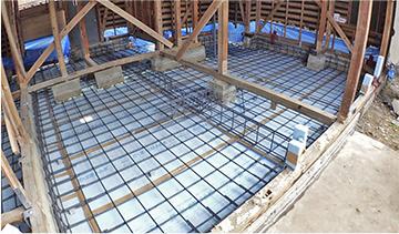 基礎の耐震補強工事