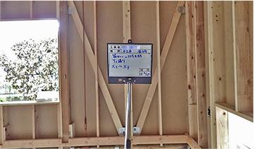 木軸の耐震補強工事
